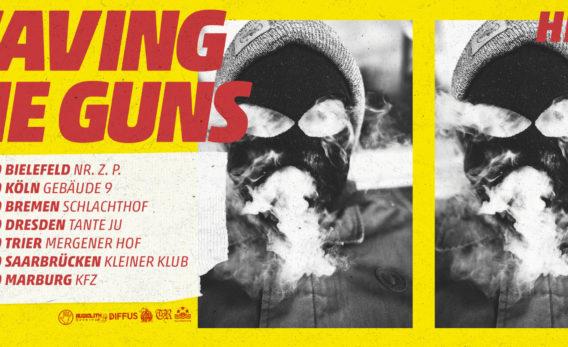 Waving The Guns kündigen neue Konzerte an!