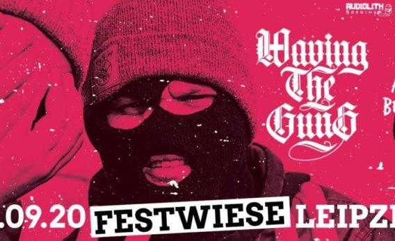 Waving The Guns spielen ein Open Air auf der Festwiese Leipzig!